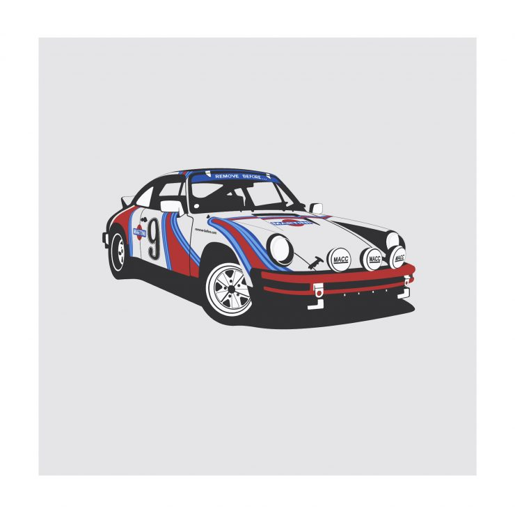 Porsche Martini NoWM 740x740 - German Icons by Remove Before