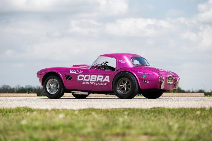 """Shelby 289 Cobra 11 740x493 - 1963 Shelby 289 Cobra """"Dragonsnake"""""""