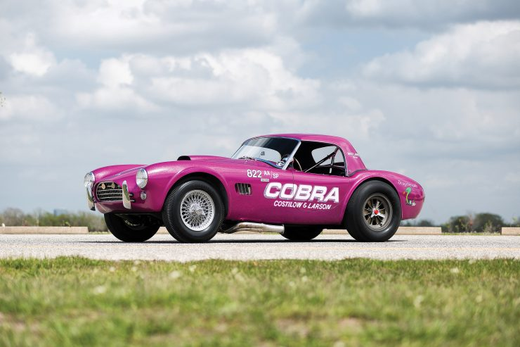 """Shelby 289 Cobra 5 740x493 - 1963 Shelby 289 Cobra """"Dragonsnake"""""""