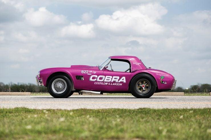 """Shelby 289 Cobra Dragonsnake 740x493 - 1963 Shelby 289 Cobra """"Dragonsnake"""""""
