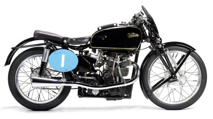 Velocette KTT Motorcycle 1 740x413 - 1949 World Championship Winner - Velocette KTT