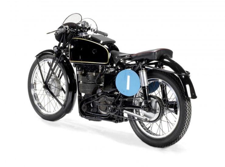 Velocette KTT Motorcycle 11 740x550 - 1949 World Championship Winner - Velocette KTT