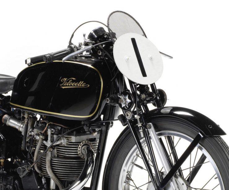 Velocette KTT Motorcycle 13 740x614 - 1949 World Championship Winner - Velocette KTT