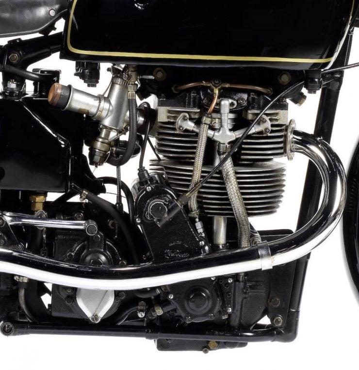Velocette KTT Motorcycle 2 740x763 - 1949 World Championship Winner - Velocette KTT