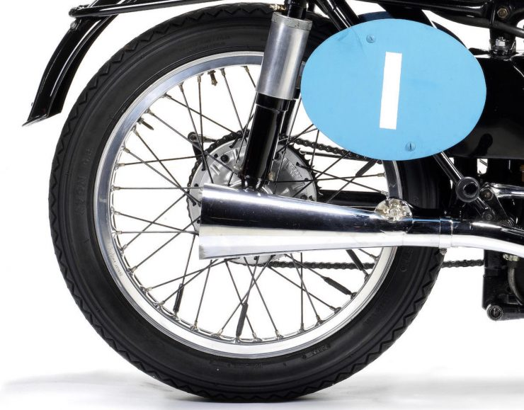 Velocette KTT Motorcycle 4 740x579 - 1949 World Championship Winner - Velocette KTT