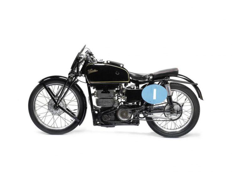 Velocette KTT Motorcycle 6 740x588 - 1949 World Championship Winner - Velocette KTT