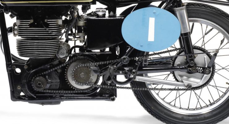 Velocette KTT Motorcycle 7 740x402 - 1949 World Championship Winner - Velocette KTT