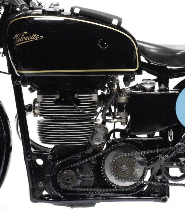 Velocette KTT Motorcycle 8 740x841 - 1949 World Championship Winner - Velocette KTT