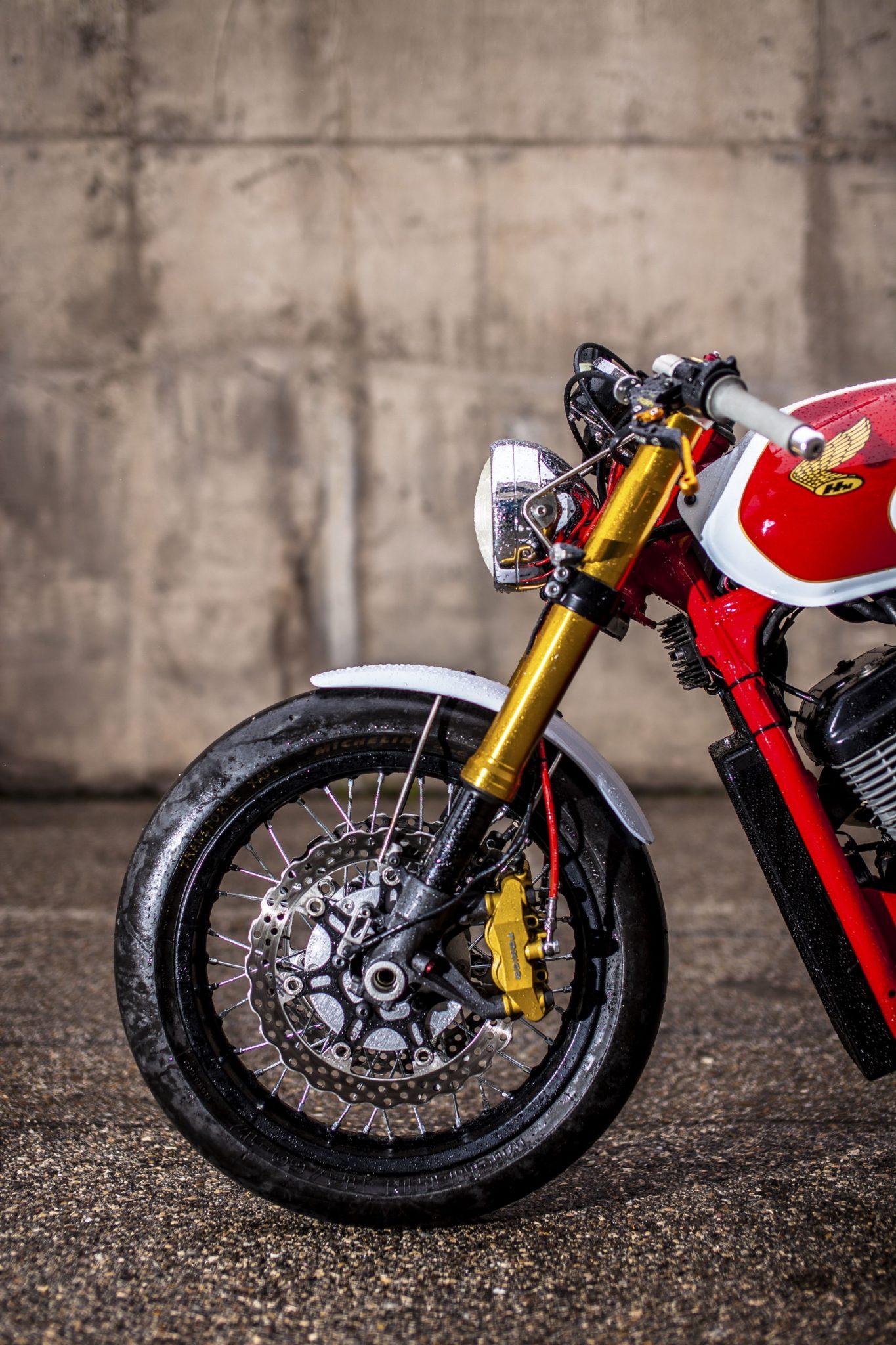 An Alternative To Suspension And >> XTR Pepo Honda Shadow Custom