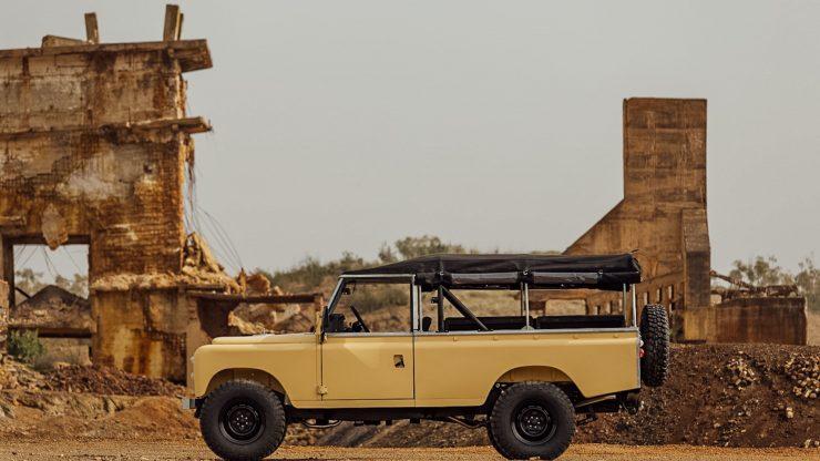 land rover series iii 1 740x416 - Land Rover Series III LWB