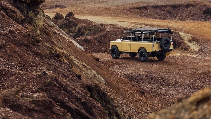 land rover series iii 4 740x416 - Land Rover Series III LWB