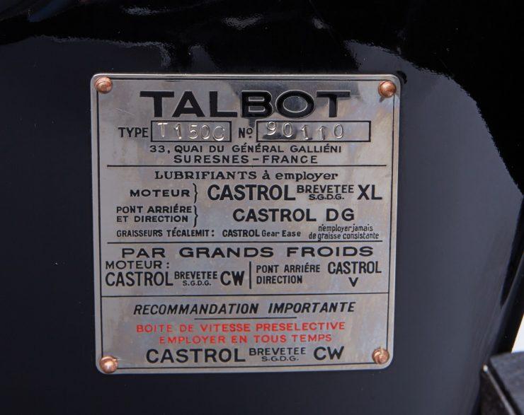 talbot lago car 12 740x587 - 1937 Talbot-Lago T150-C SS 'Goutte d'Eau' Coupé