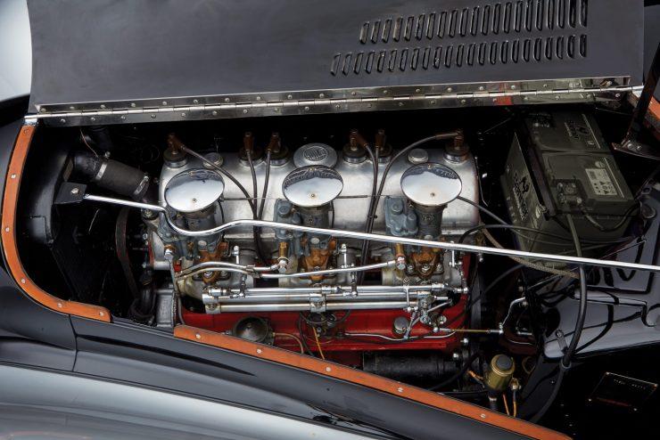 talbot lago car 3 740x494 - 1937 Talbot-Lago T150-C SS 'Goutte d'Eau' Coupé