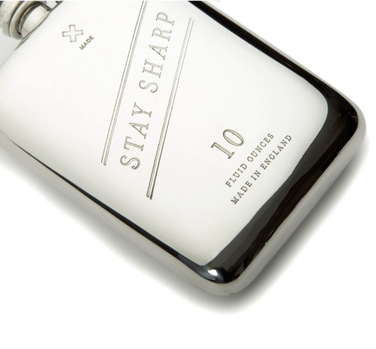 10 oz Stay Sharp Pewter Flask Best Made copy 740x687 - 10 oz Stay Sharp Pewter Flask