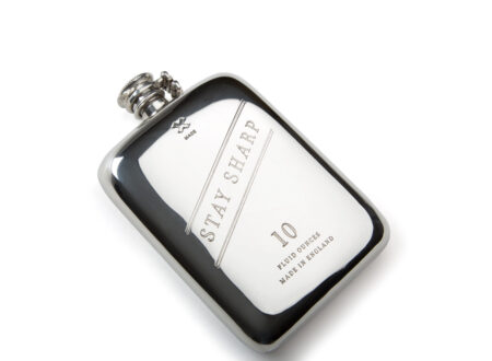 10 oz Stay Sharp Pewter Flask copy 450x330 - 10 oz Stay Sharp Pewter Flask