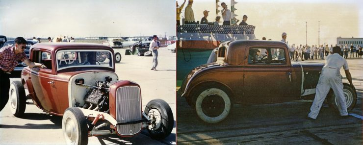 1932 Ford Drag Racer 14 1 740x296 - 1932 Ford - Drag Racing Class AB Champion of 1954