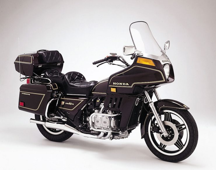 Honda Goldwing GL 1100 Interstate and Aspencade