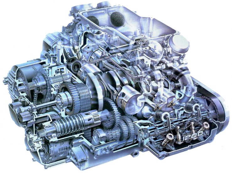 Honda Goldwing engine