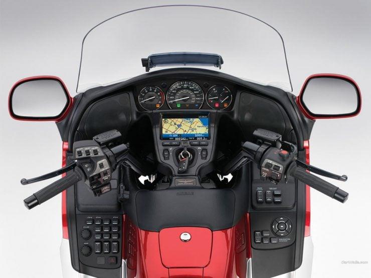 Honda Valkyrie dashboard