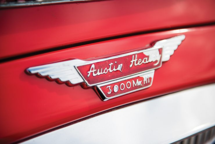 Austin Healey 3000 Mk III Badge 740x494 - The Essential Buying Guide - Austin-Healey 3000