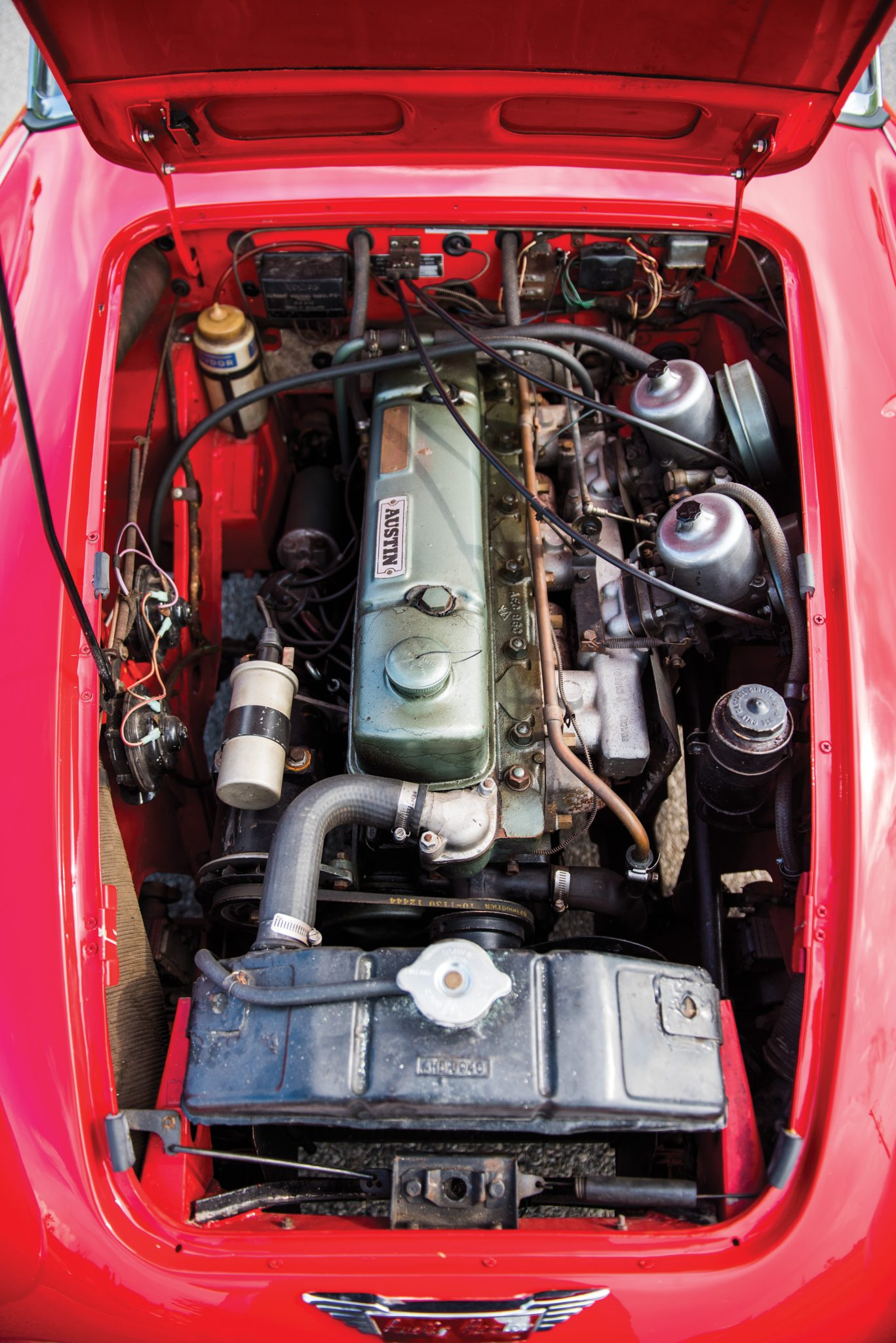 Oil In Coolant >> The Essential Buying Guide - Austin-Healey 3000