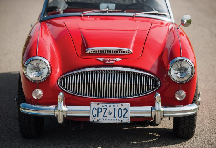 Austin Healey 3000 Mk III Front 740x508 - The Essential Buying Guide - Austin-Healey 3000