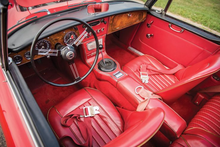 Austin Healey 3000 Mk III Interior 740x494 - The Essential Buying Guide - Austin-Healey 3000