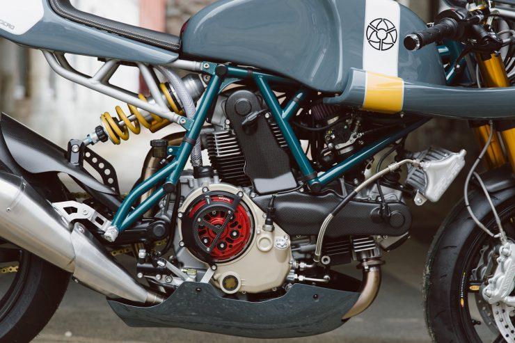 Ducati Custom Motorycle Leggero 1 740x493 - Mike's Leggero by Walt Siegl