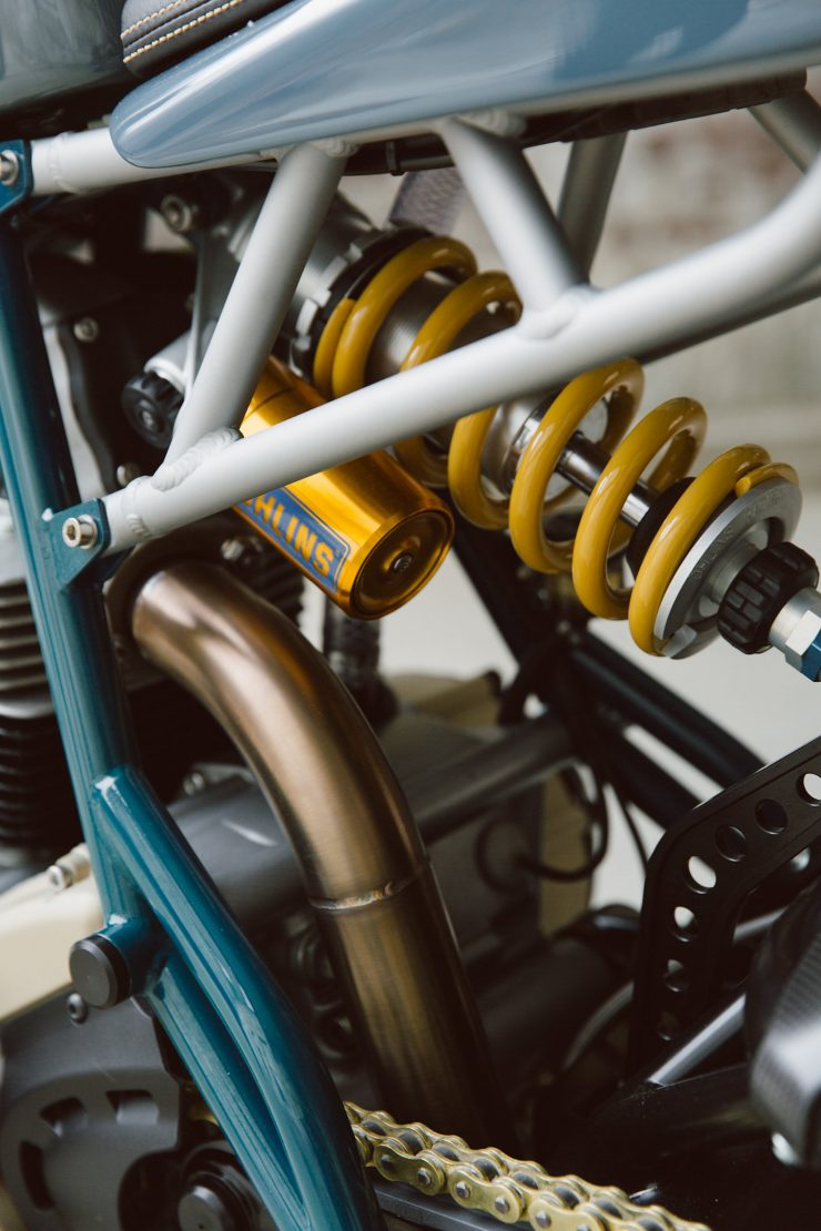 Ducati Custom Motorycle Leggero 11 740x1110 - Mike's Leggero by Walt Siegl