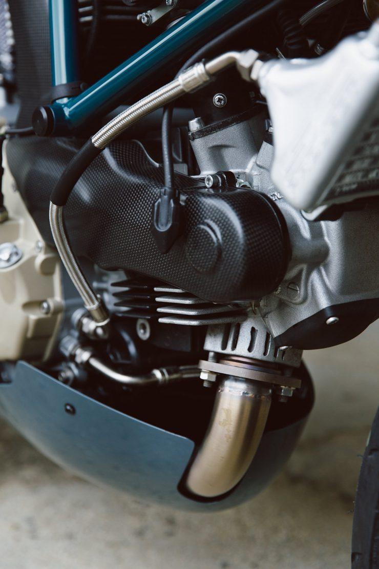 Ducati Custom Motorycle Leggero 16 740x1110 - Mike's Leggero by Walt Siegl