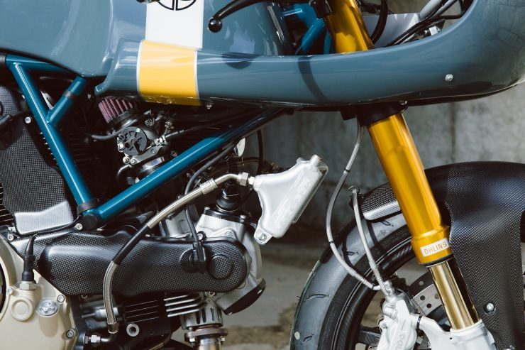 Ducati Custom Motorycle Leggero 21 740x493 - Mike's Leggero by Walt Siegl