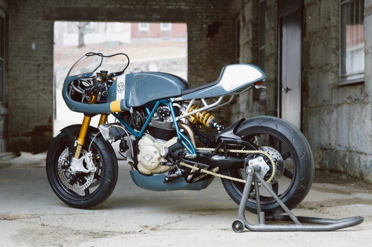 Ducati Custom Motorycle Leggero 22 740x493 - Mike's Leggero by Walt Siegl