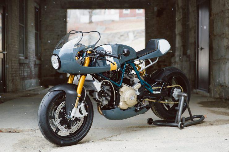 Ducati Custom Motorycle Leggero 23 740x493 - Mike's Leggero by Walt Siegl