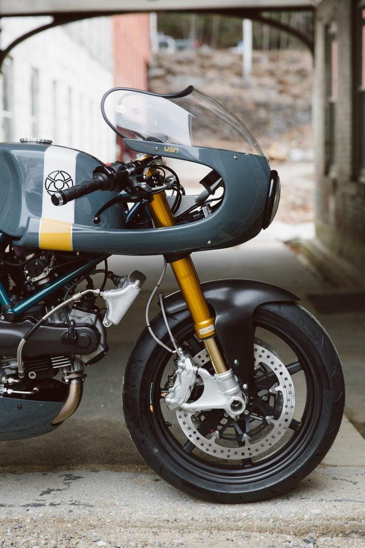 Ducati Custom Motorycle Leggero 7 740x1110 - Mike's Leggero by Walt Siegl