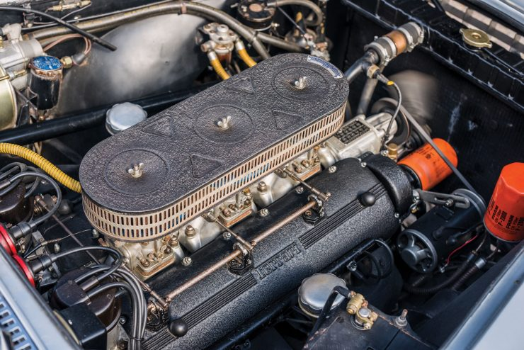 Ferrari 250 GT Engine 740x494 - 1960 Ferrari 250 GT Coupe Pinin Farina Series II