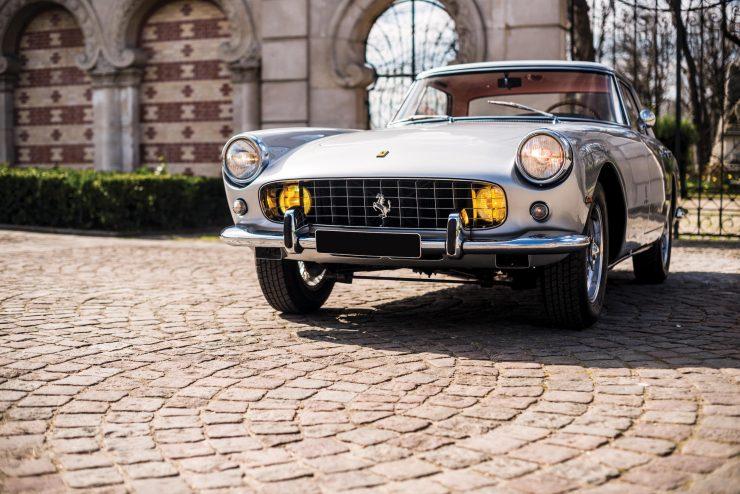 Ferrari 250 GT Front 740x494 - 1960 Ferrari 250 GT Coupe Pinin Farina Series II