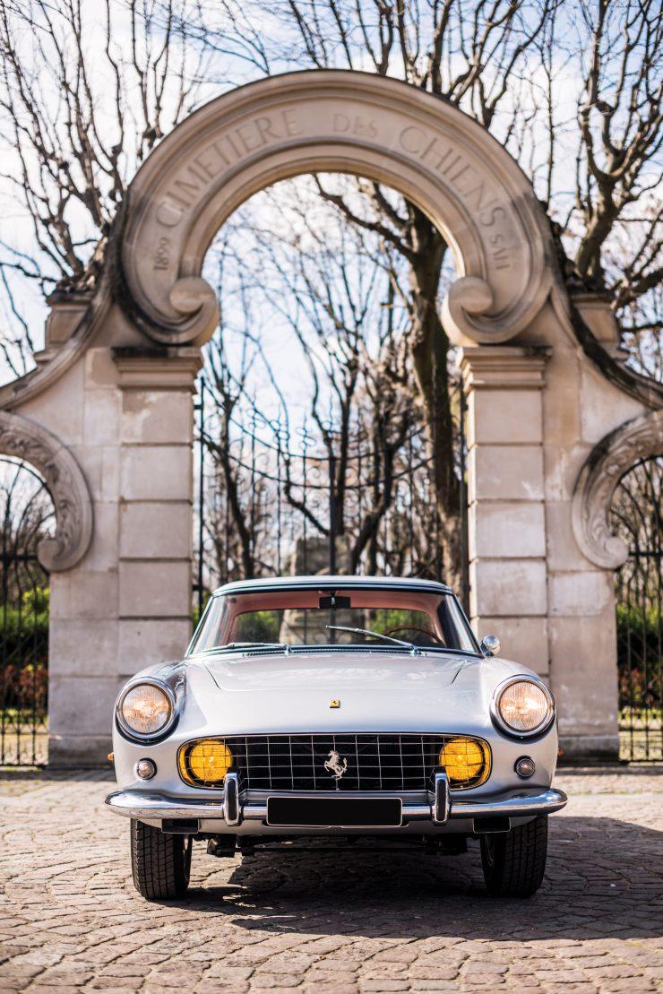 Ferrari 250 GT Front Main 740x1109 - 1960 Ferrari 250 GT Coupe Pinin Farina Series II