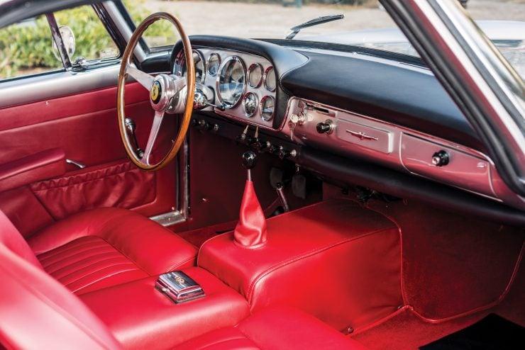 Ferrari 250 GT Interior 740x494 - 1960 Ferrari 250 GT Coupe Pinin Farina Series II
