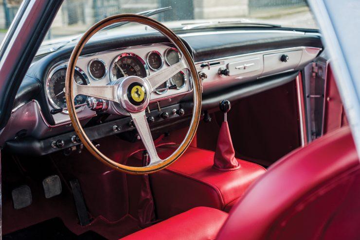 Ferrari 250 GT Main Interior 740x494 - 1960 Ferrari 250 GT Coupe Pinin Farina Series II