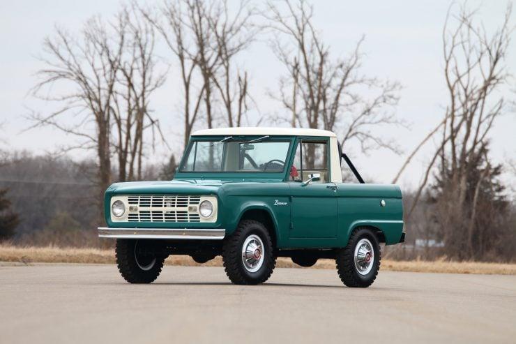 Ford Bronco 740x493 - 1967 Ford Bronco Half Cab