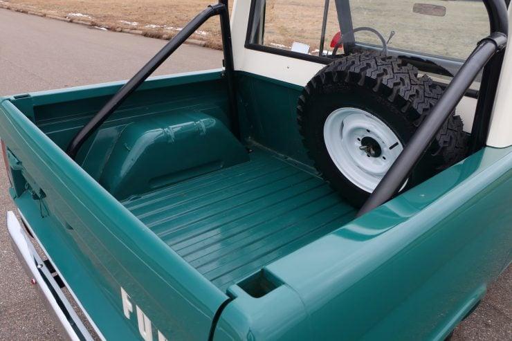Ford Bronco 8 740x493 - 1967 Ford Bronco Half Cab