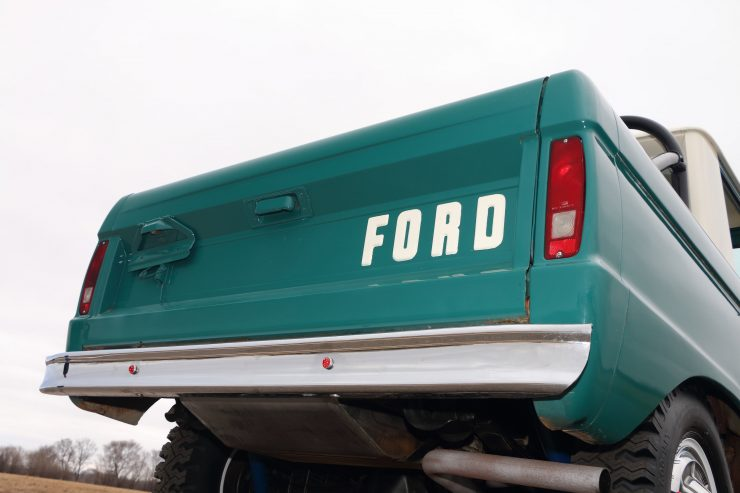 Ford Bronco 9 740x493 - 1967 Ford Bronco Half Cab