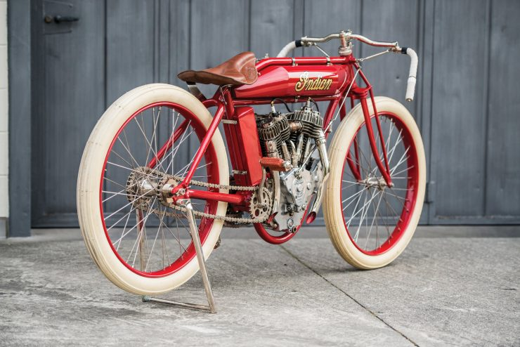 Indian Board Track Racer 1 740x494 - 1919 Indian Powerplus Board Track Racer
