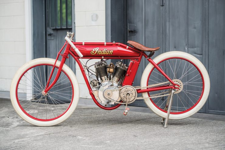 Indian Board Track Racer 14 740x494 - 1919 Indian Powerplus Board Track Racer