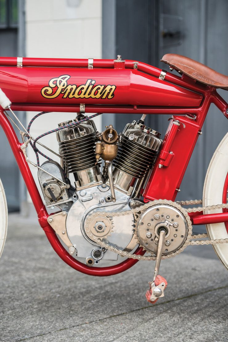Indian Board Track Racer 8 740x1109 - 1919 Indian Powerplus Board Track Racer