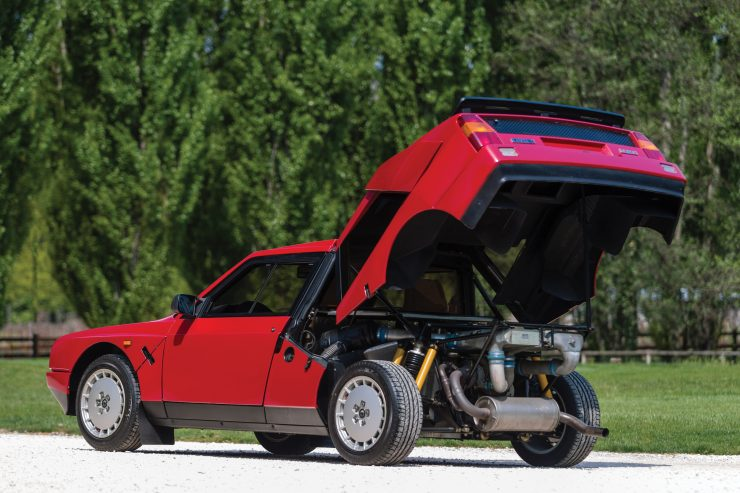 """Lancia Delta S4 Stradale 23 740x493 - The Twincharged 1985 Lancia Delta S4 """"Stradale"""""""