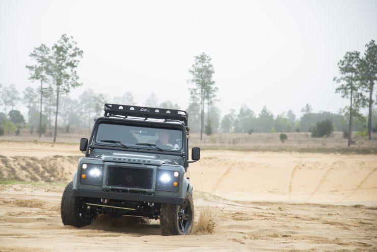 Land Rover Defender 90 11 740x494 - Project 13 Land Rover Defender 90