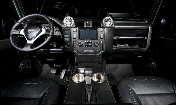 Land Rover Defender 90 17 740x444 - Project 13 Land Rover Defender 90