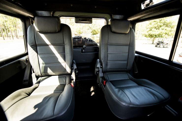 Land Rover Defender 90 20 740x494 - Project 13 Land Rover Defender 90