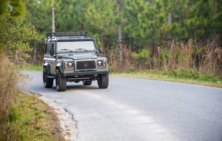 Land Rover Defender 90 3 740x473 - Project 13 Land Rover Defender 90